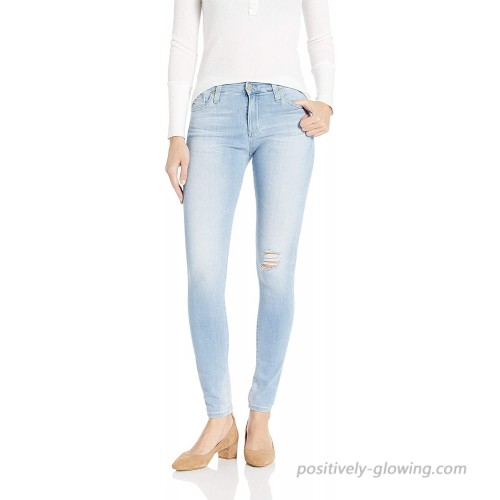 AG Adriano Goldschmied Women's Farrah High-Rise Skinny Fit Jean at Women's Jeans store
