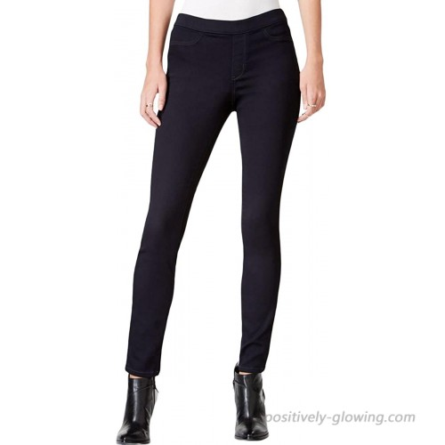 Maison Jules Womens Pull On Mid-Rise Jeggings Blue XS at Women's Clothing store
