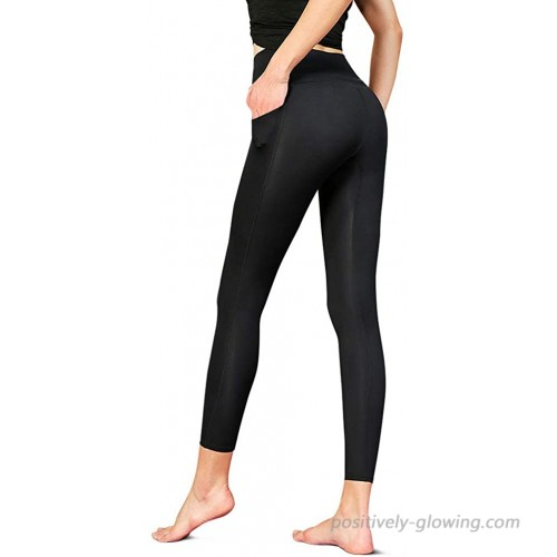 Yoga Workout Leggings Pants for Womens High Waisted Tummy Control Yoga Leggings with Pocket at  Women's Clothing store