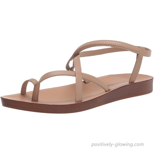 Essentials Women's Strappy Footbed Sandal