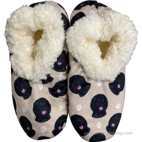 Labradoodle Super Soft Women's Slippers - One Size Fits Most - Cozy House Slippers - Non Skid Bottom - Perfect for Labradoodle Gifts #36 Slippers