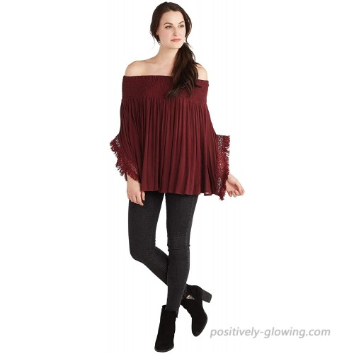 Mud Pie Women's Pinot Kristin Off-The-Shoulder Top at  Women's Clothing store