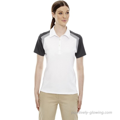 Ashe Xtream Women's Acty-75065-edry Colorblock Polo at  Women's Clothing store