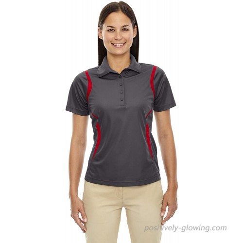 Ashe Xtream Women's ACTY-75109-Eperformance Venture Snag Protection Polo Black Silk X-Large at  Women's Clothing store