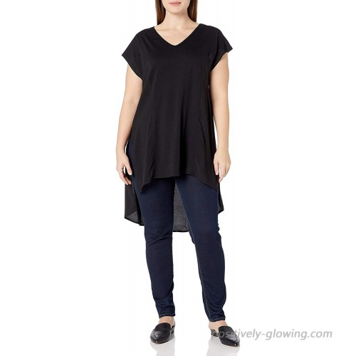 City Chic Women's Apparel Women's Plus Size Hi-lo Hemmed Top with Side Split at  Women's Clothing store