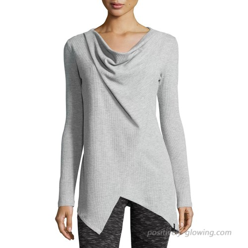 Marc New York Andrew Marc Performance Women's Asymmetric Long-Sleeve Tunic Large Grey at  Women's Clothing store